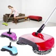 Auto Spin Hand Push Sweeper Floor Dust Collector Mop