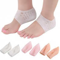 2 pieces of a pair, new silicone Moisturizing gel heel socks, anti-slip care for cracked feet, skin care and protection, skin care tool