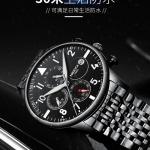 Nibosi Watch Men Fashion Sport Quartz Clock Mens Watches Brand Luxury Stainless Steel Business Waterproof Quartz Wristwatch 3380