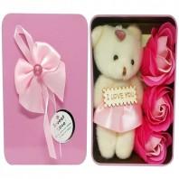 I Love you Panda Doll-Pink 5057