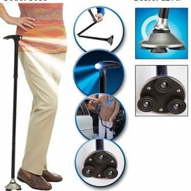 Magic Cane With Powerful Torch-2031