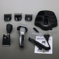Gemei 6 in 1 Rechargeable Shaver,Hair,Ear & Nose Trimmer- 1209