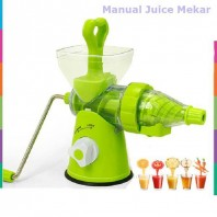 E-Budget Juice Wizard Manual Fruit Juicer - Green511