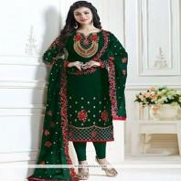 Ayesha Blue Takia Straight Cut Salwar Suits