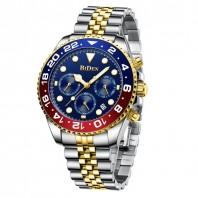 Genuine BIDEN 0037-2 New Watches Men Luxury Brand Chronograph Male Sport Watches Waterproof Stainless Steel Quartz Men Watch