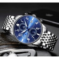 NIBOSI Chronograph Waterproof Watch 3385