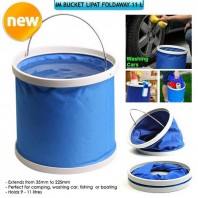 Waterproof Collapsible Washing Car Folding Bucket1521