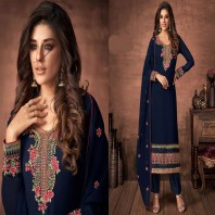 Partywear Embroidered Salwar Kameez Indian Dress Ready to Wear Salwar Suit for Women
