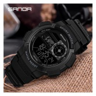 Sanda New Watch Men's Multi-function Digital Waterproof Trend Junior High School Students Outdoor Sports Female Electronic Watch