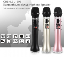 Unboxing iCHENLE L-598 Bluetooth Microphone Portable Speaker-2122