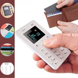 Pigment Ultra Thin Card Mobile Phone Aiek M5 - Black135