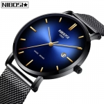 NIBOSI Simple Watch Men Fashion Brand Quartz Watch Luxury Creative Waterproof Date Casual Men Watches Relogio Masculino -3365