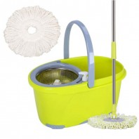 Floor Cleaning Spin Mop with Bucket