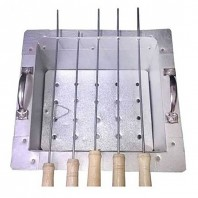 BBQ stand with 5 stick-2507