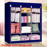 Portable Cloth Storage Rack-2544