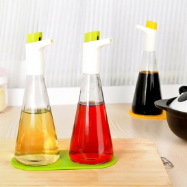 Oil proof glass bottles with oil swan-2596