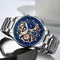 NIBOSI 2020 New Gold Mens Watches Sports Quartz Wristwatch Luxury Men Luminous Waterproof Clock Creative Relogio Masculino