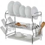 Stainless steel 3 lair dish rack-2603
