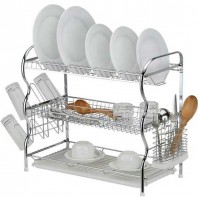 Stainless steel 3 lair dish rack-2603