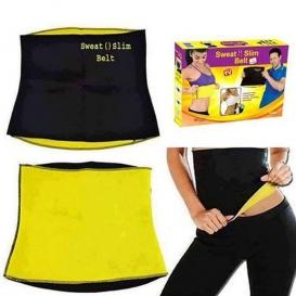 Elegant Expression Slimming Hot Shaper Belt - Black and Yellow9001