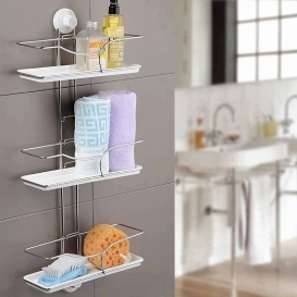3 Layer Metalic Suction Shelf427