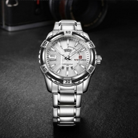 Stylish mens watch water resistant-3003