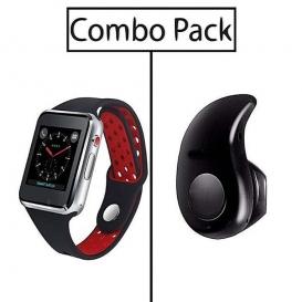 Combo of M3 Smart Watch and S530 Mini Bluetooth Earphone-3047