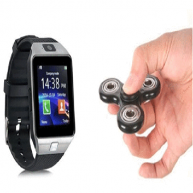 DZ09 Smart Watch SIM Supported and Fidget Spinner-3051