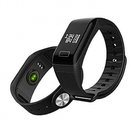 Heart Rate Monitor Call Remind Smart Band-3053