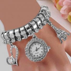 Eiffel Tower Watch Silver ( Gift Box Free) 3074