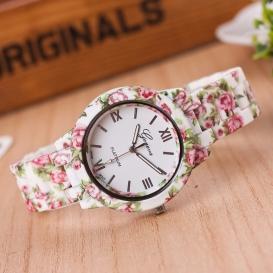 WatchVill Pink Analog Watch For Women - 3076