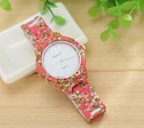 WatchVill Pink Analog Watch For Women -3077