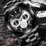 biden Stainless Steel Waterproof Watch-3117