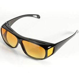 HD Day & Night Vision Wrap Around Glassess-2024