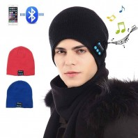 Bluetooth Music winter cap with headset-3527