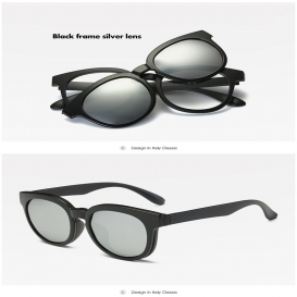 5 in 1 Quick Change Magnet Sun glasses-2001