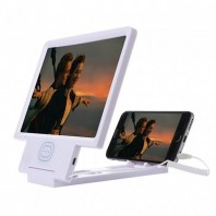 3D Enlarged Screen - White-2071