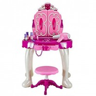 Baby Dressing Table with Cosmetics & Ornaments-4032