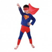 Kid's Super Man Dress-4038