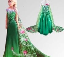 Queen Elsa Dress for kids-4040