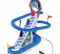Phoenix Funny Penguin Musical Track And Toy (Multicolor)-4056