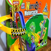 Plastic Nuttiness Motorcycle Toy-4057