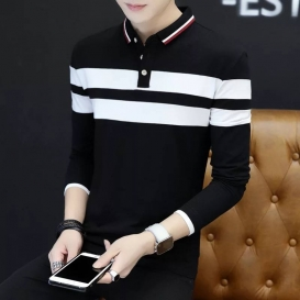 Menz full sleev polo-shirt-4338