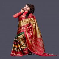 Gorgeous Soft Silk Sharee 608
