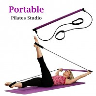 Portable Empower Pilates Studio Empower Portable Pilates Studio with DVD and Workout Guide Yoga Yoga Stripes Exercise & Fitness Supplies-856