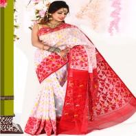 Tangail Cotton Jamdani Saree 900