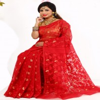 Tangail Silk Jamdani Sharee 903