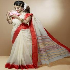 Tangail Silk & Cotton Saree 924