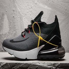 Cheap Nike Air Max 270 Flyknit Black Grey-925