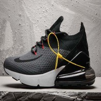 Cheap Nike Air Max 270 Flyknit Black Grey-925
